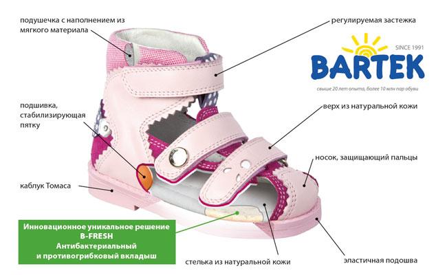 Профилактика плоскостопия у детей. Ортопедическая обувь Bartek