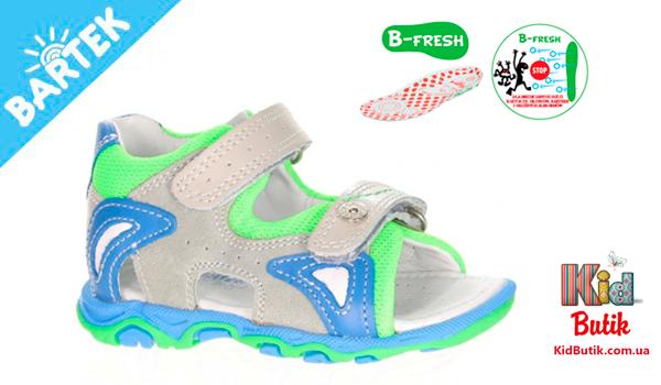 Детская летняя обувь BARTEK от kidbutik.com.ua