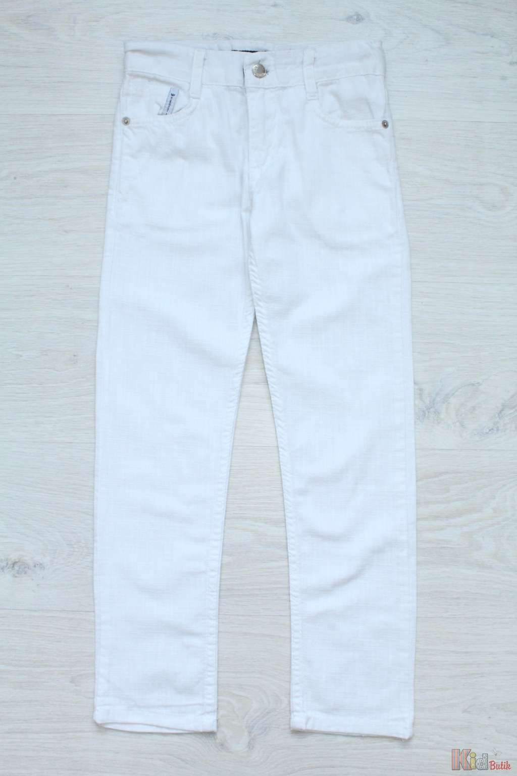 ᐈ Штани для хлопчика лляні білі 2126000063659 купити в KidButik.ua ... 6223aff0a51f2