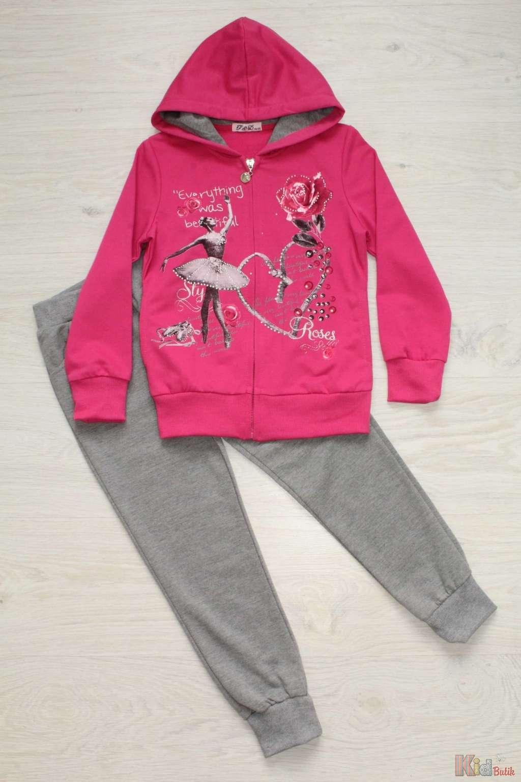 ᐈ Спортивний костюм 2-ка для дівчинки 2129000425045 купити в ... c52107372336b