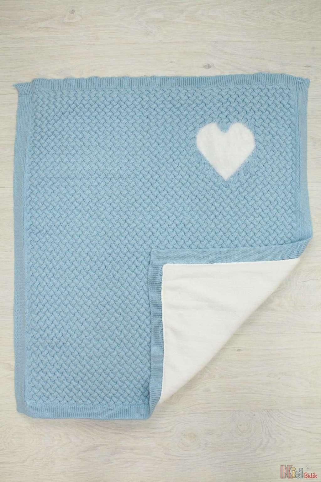 ᐈ одеяло вязаное для малыша 2129000440604 купить недорого в
