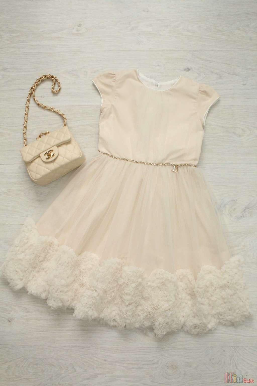 Платье С Рукавом Для Девочки Купить В