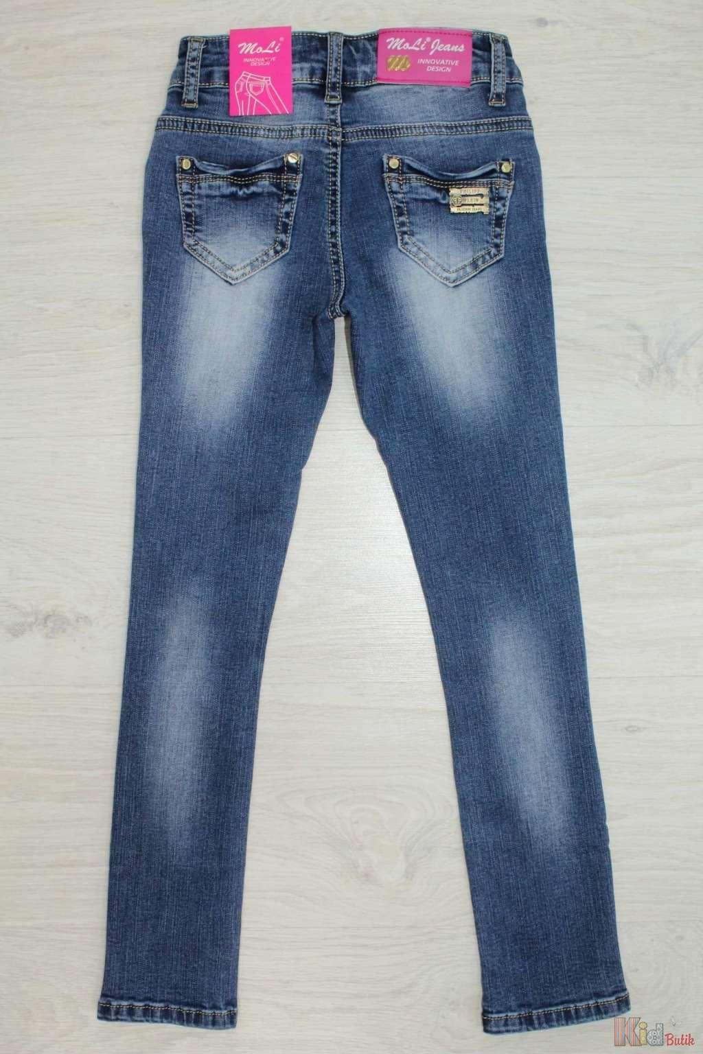 Рваные джинсы для девочки