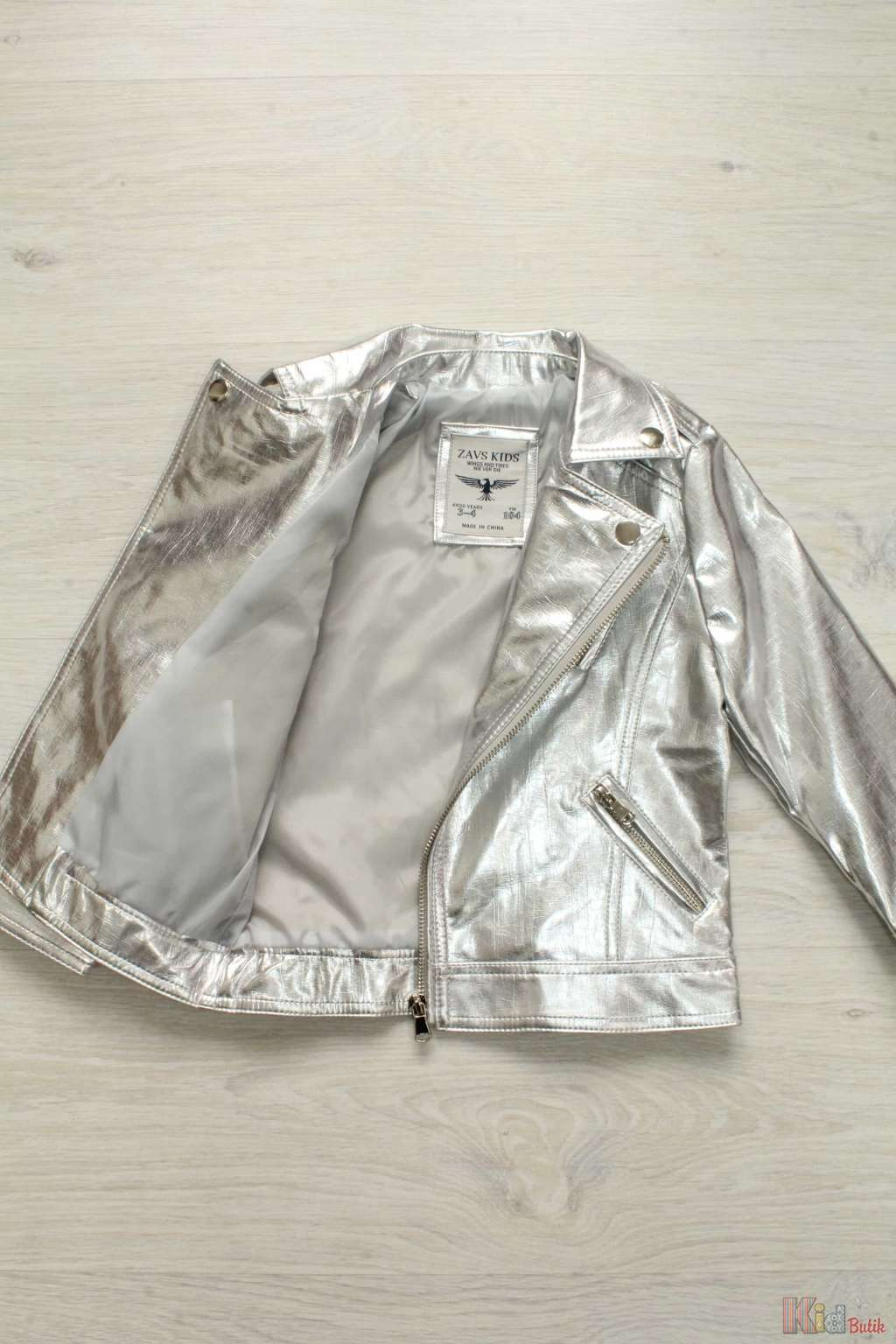 Серебристая Куртка Купить