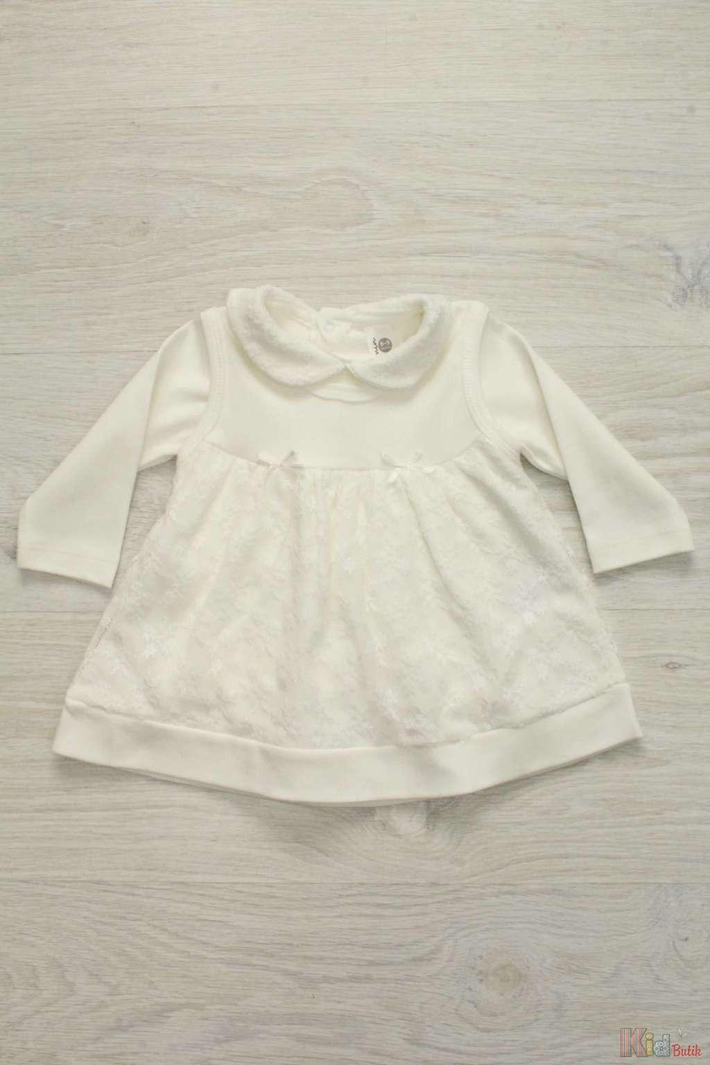 8ffeb6e7ffe9 Плаття святкове молочного кольору для дівчинки Carmin Т17-5(ELB3) л ...