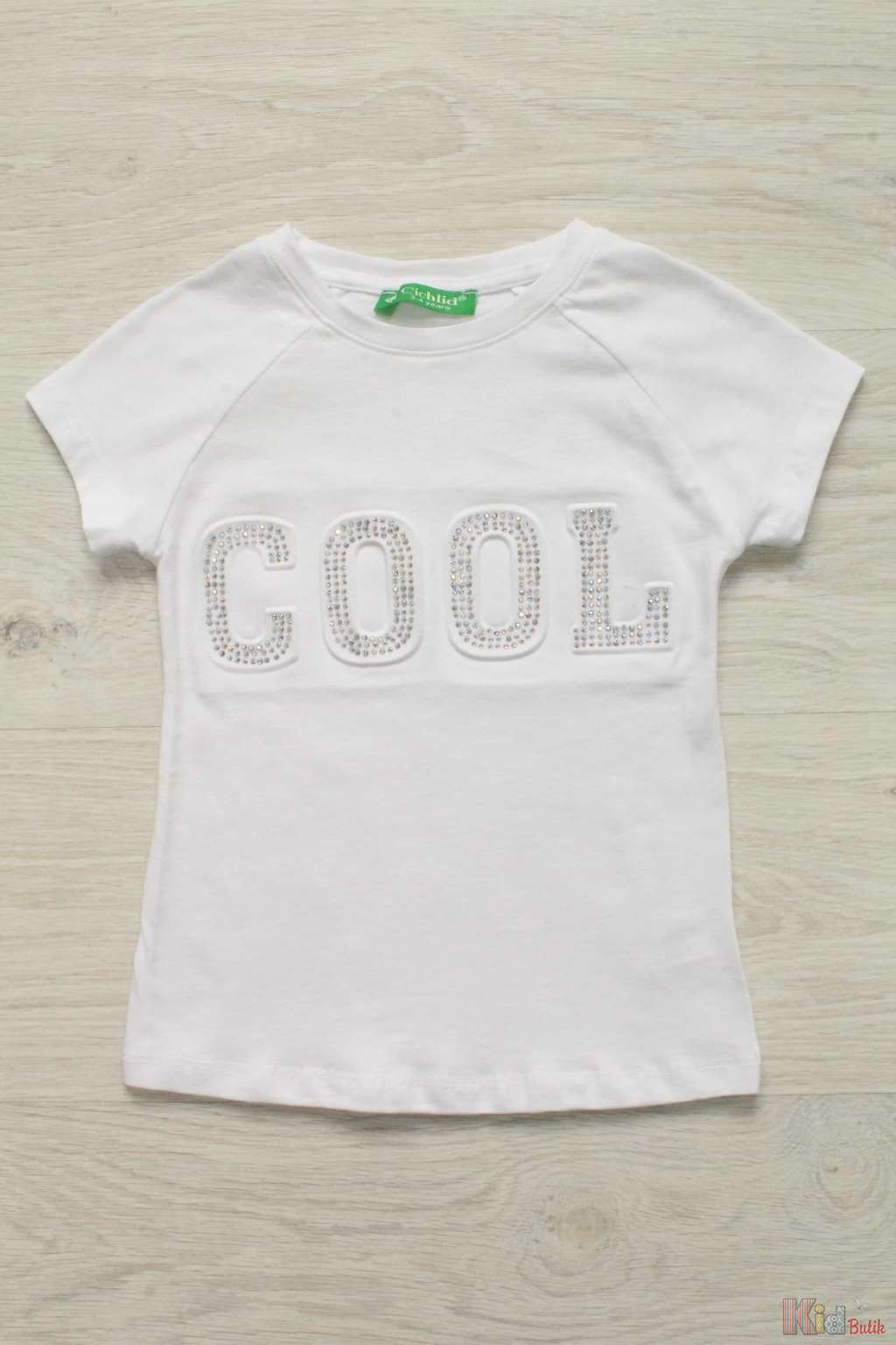 ᐈ Футболка для дівчинки «Cool. White.» Cichlid 2125000485379 купити ... 9fa174509c8aa