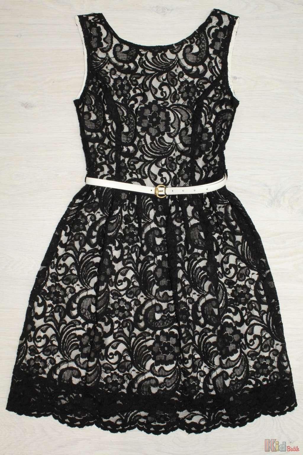 ᐈ Сукня з чорного мережива 2125000467283 купити в KidButik.com.ua ... 416a49e050f60