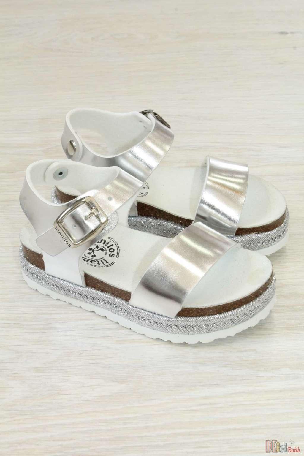 ᐈ Босоніжки для дівчинки на платформі Titanitos 2126000276189 ... aeb9ea8281d71