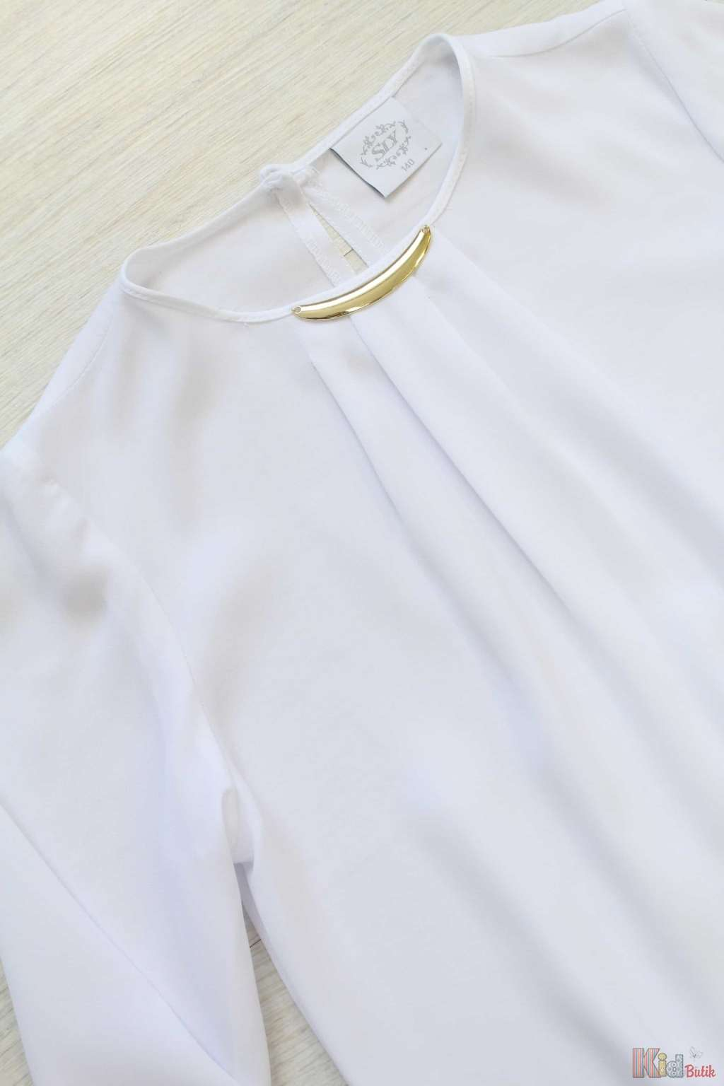 729aeb31f43 ... Блузка школьная на резинке с длинным рукавом Sly S17-9(106 S) ...
