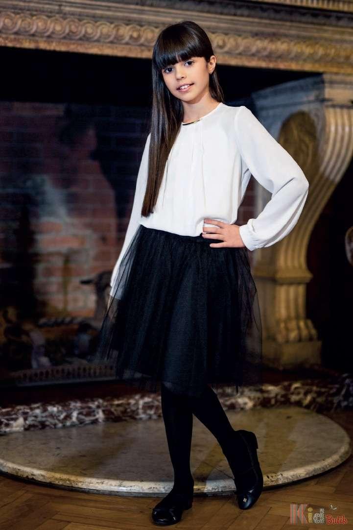 e83fa54d1a8 ᐈ Блузка школьная на резинке с длинным рукавом Sly 2125000490571 ...