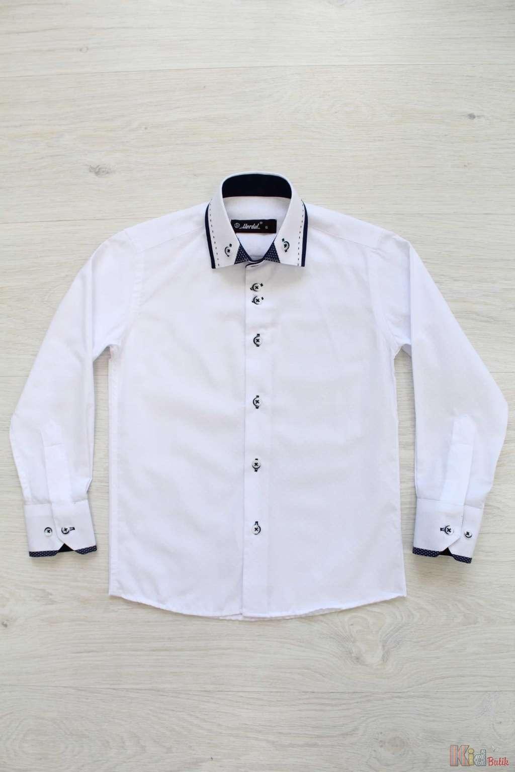 ᐈ Біла шкільна сорочка для хлопчика Herdal 2127000278883 купити в ... 82cfe673fb7fb