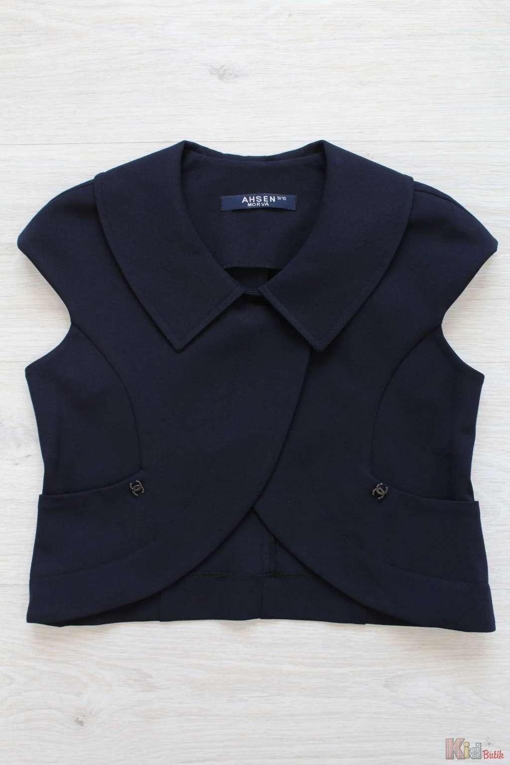 Школьная блузка с коротким рукавом купить