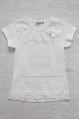 60ef08132ea ᐈ Кофточка нарядная для девочки на короткий рукав Matilda ...