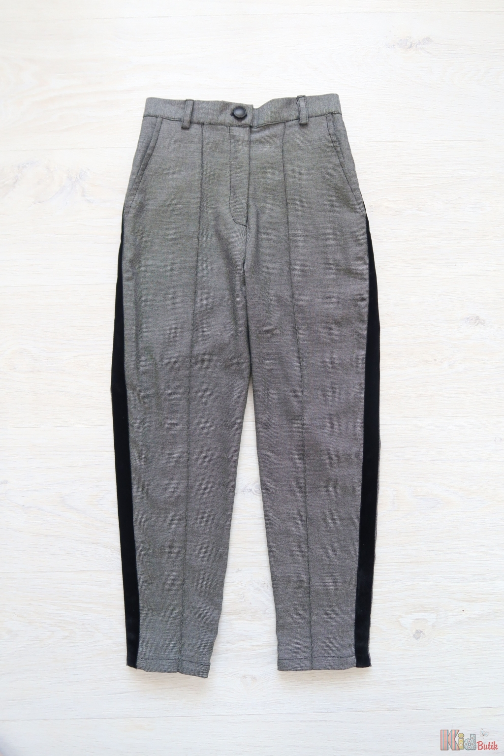 ᐈ Штани на високій талії для дівчинки сірі ПАРА SOLO 17891-7 купити ... fb01311dae7df