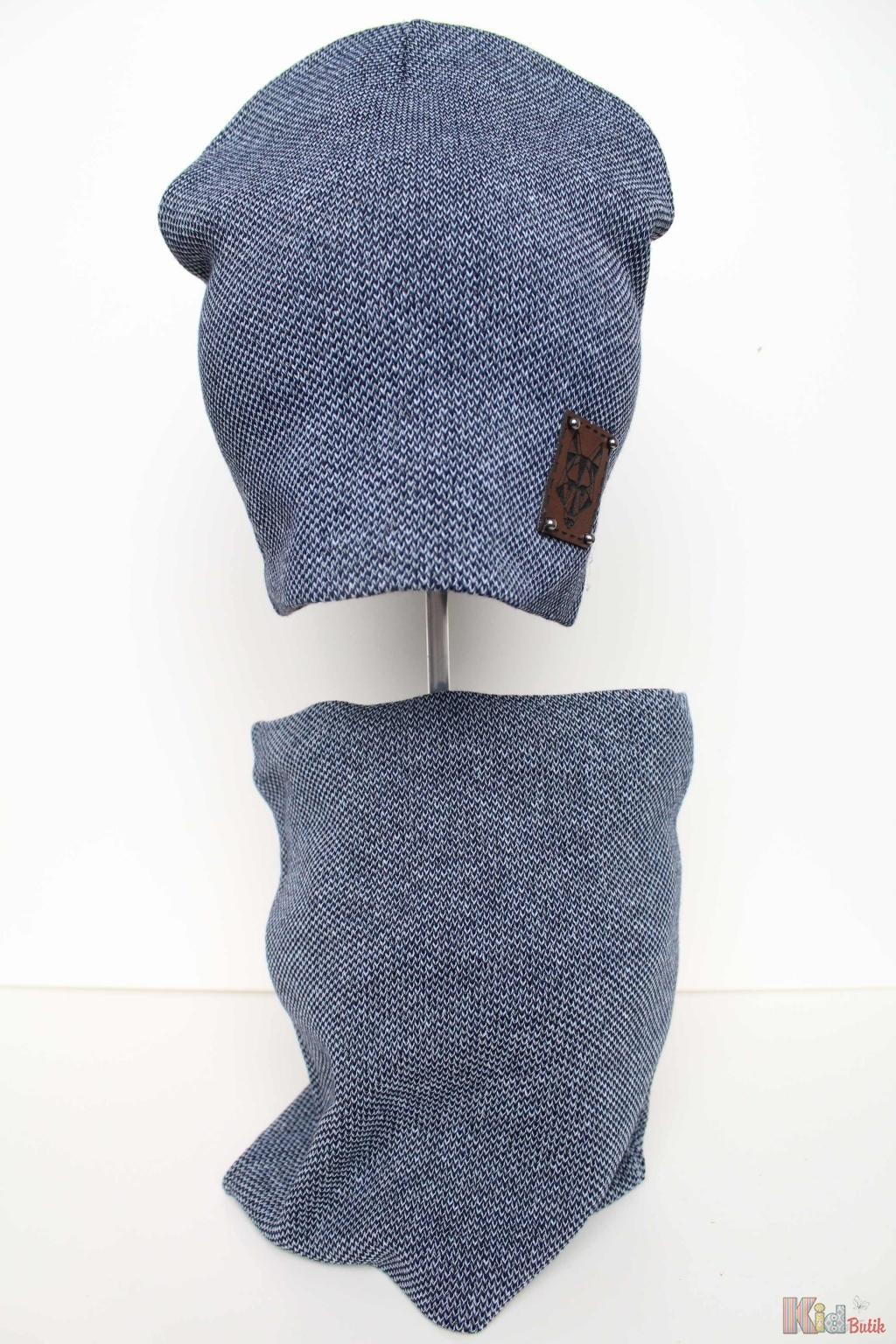 ᐈ Комплект шапка + хомут для хлопчика Nikola 2125000562070 купити в ... d1e22353c845e