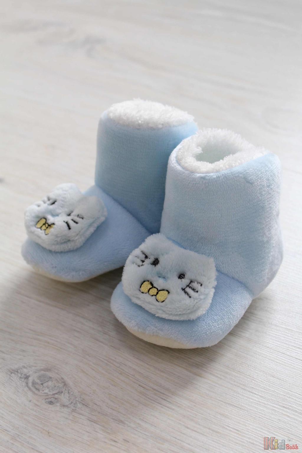 Пінетки теплі блакитні з нековзаючою підошвою No name 18-35603 ... 884725e16eabb