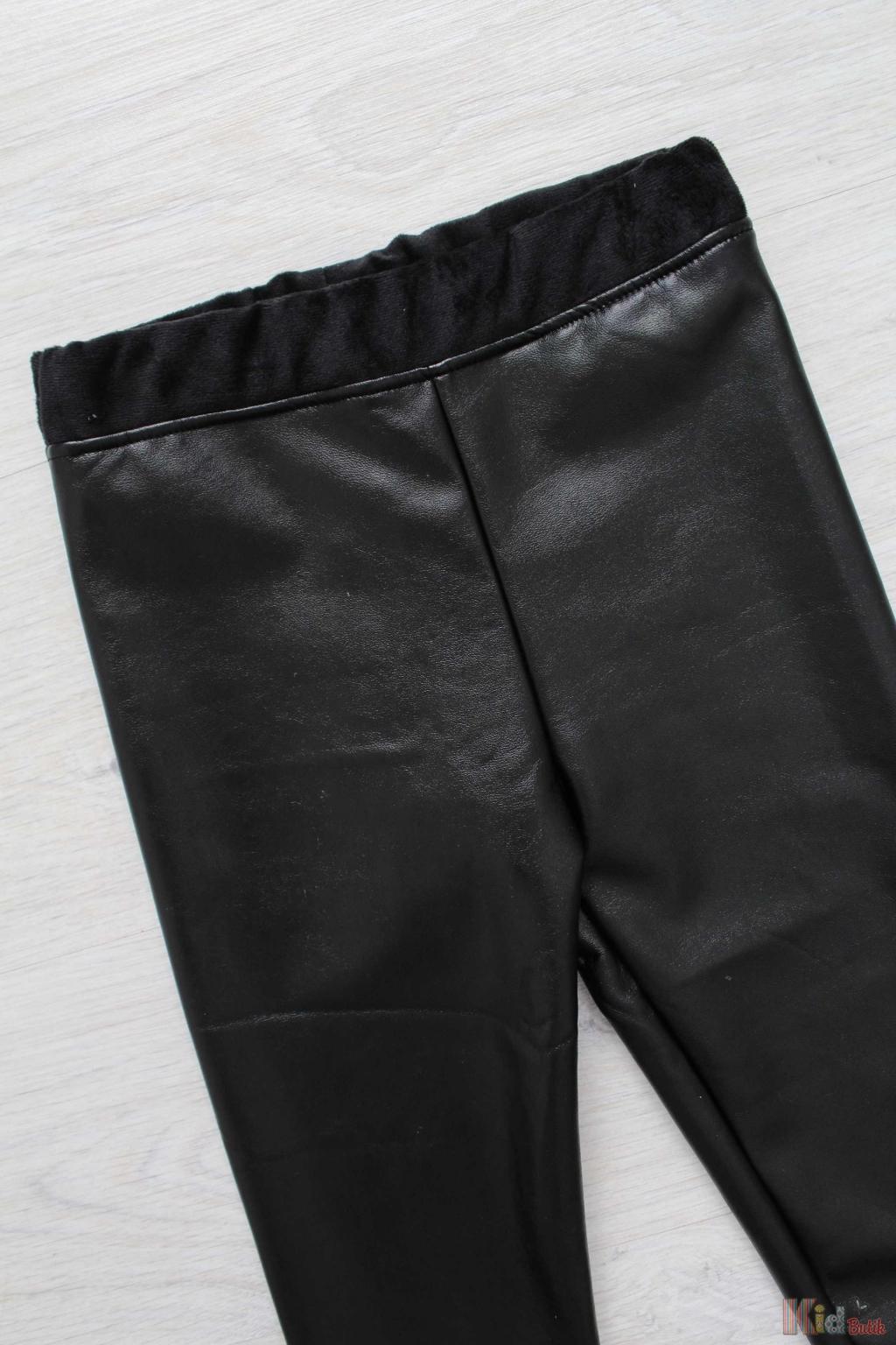 ᐈ Лосини чорні під еко шкіру Unsea 8690000063529 купити в KidButik ... cc559df53c674