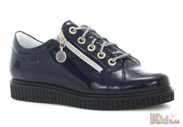 cc0897a1737e58 ᐈ Туфлі-напівчеревики для дівчинки лакові Bartek 18-48618/SZ/1IH ...