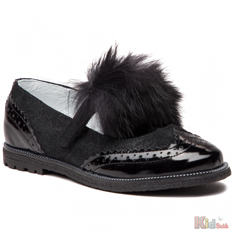 ᐈ Туфлі для дівчинки чорного кольору Bartek 5904699534899 купити в ... 920e3a3a44ee7