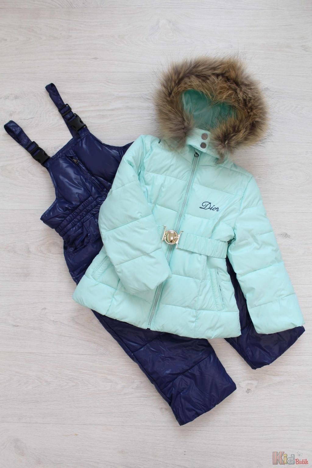 4642d503c704ee ᐈ Куртка+комбінезон для дівчинки 2125000574370 купити недорого в ...