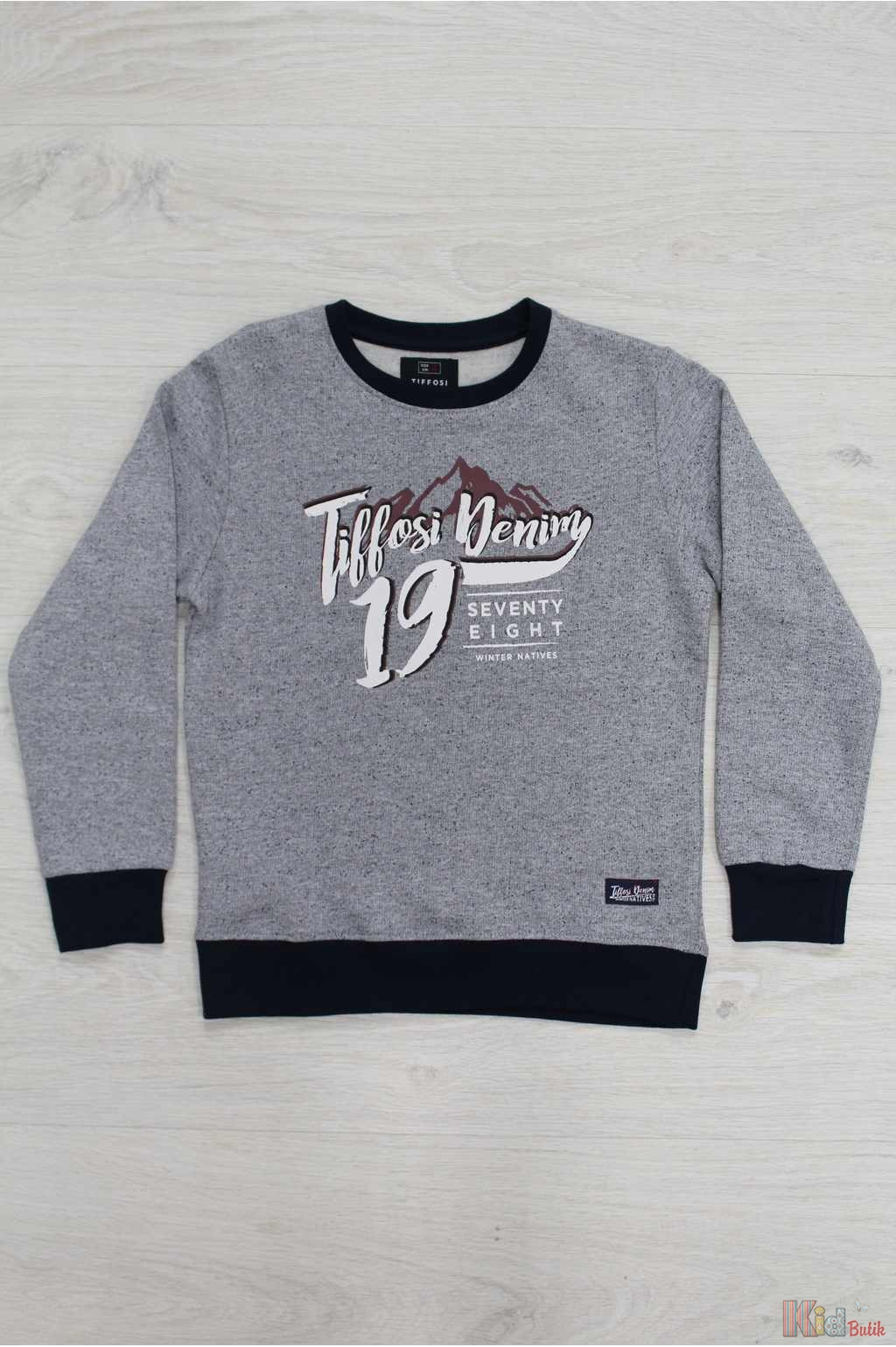 ᐈ Світшот сірий утеплений для хлопчика Tiffosi 5603344018547 купити ... 419310f2941f9