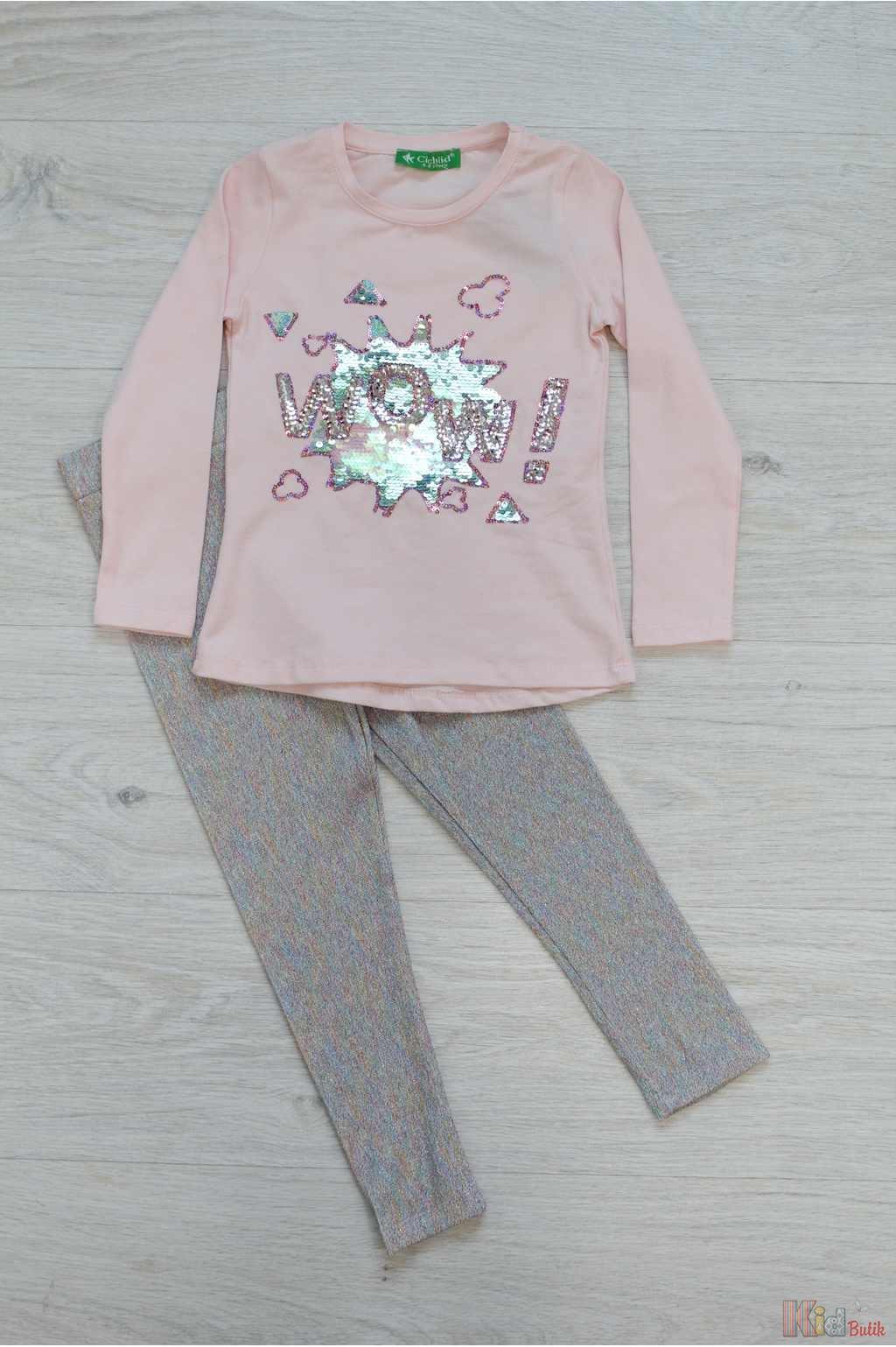 Костюм 2-ка ніжно-рожевого кольору для дівчинки Cichlid Ч18-153Рз(2788 ... 66f6994678354