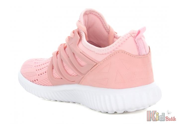 2d65d3a8646868 ... Кросівки ніжно-рожевого кольору для дівчаток Bartek 19-55114/RRR ...