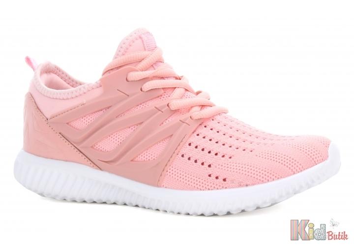 139f5889a68eca ᐈ Кросівки ніжно-рожевого кольору для дівчаток Bartek 19-55114/RRR ...