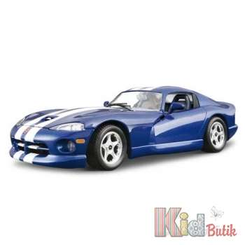 Авто-конструктор - DODGE VIPER GTS COUPE (1996) (синий, 1:24) Bburago 18-25023