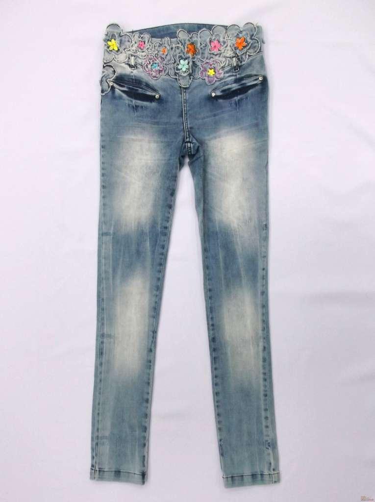 купить джинсы для девочки в интернет магазине