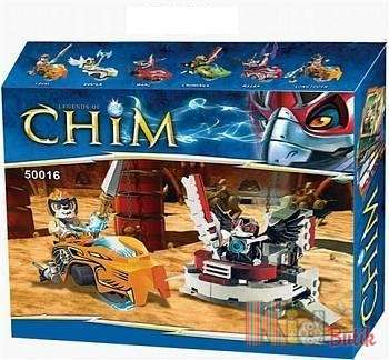 "Конструктор Chim ""Legends of Chima"" No name 50016 л"