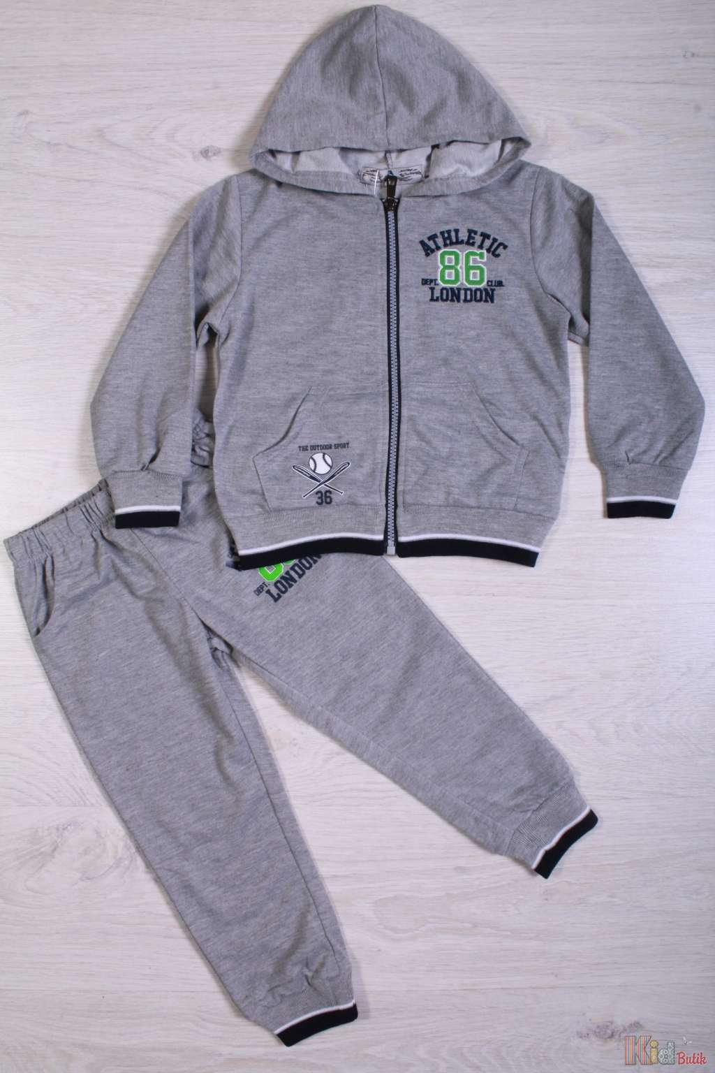 Спортивный костюм сірого кольору для хлопчика У15-8 З купити в ... 052f29f2dbb19