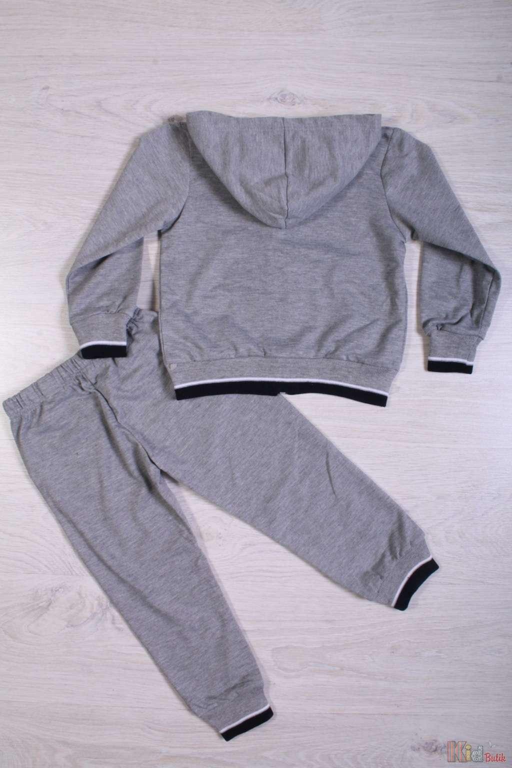 ... Спортивный костюм сірого кольору для хлопчика No name У15-8 З ... 1294a4206e929